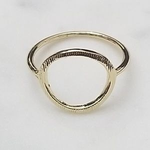 Jewelry - 🔥2 for $15🔥 Karma Circle GOLD Ring